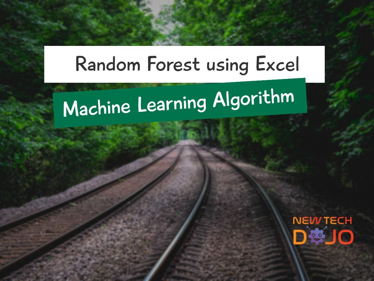 Random Forest using Excel Machine learning algorithm