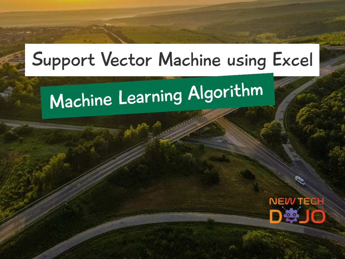 Support Vector Machine using Excel - Machine Learning Algorithm