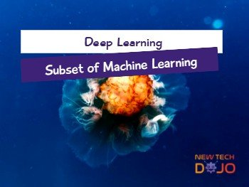 Deep Learning Subset of Machine Learning