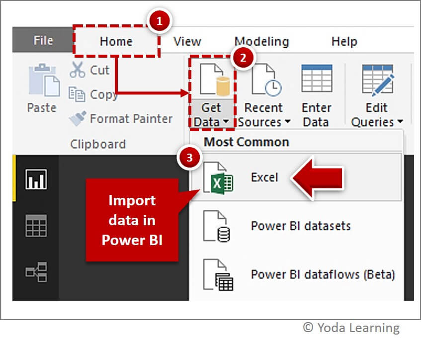 Import Data in Power BI