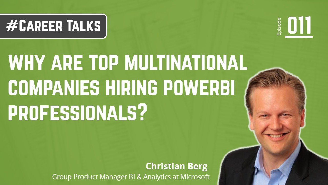 why are top multinational companies hiring powerbi professionals_
